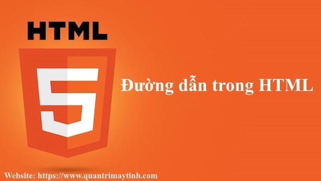 Đường dẫn trong HTML