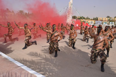 المدرسة العليا للقوات الخاصة تحتفل بتخرج دفعات جديدة