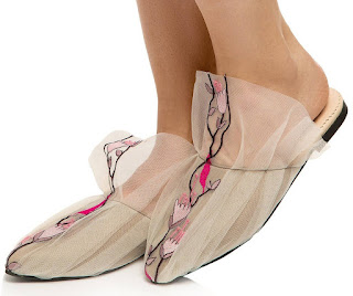 Shoeography: Shoe of the Day: RxBShoes Floral Mesh Mules