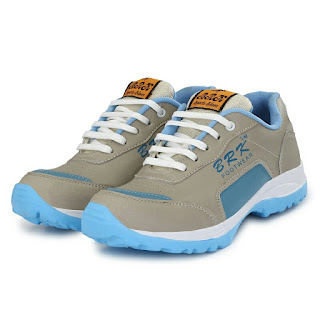 Men's Blue Synthetic Running Shoes