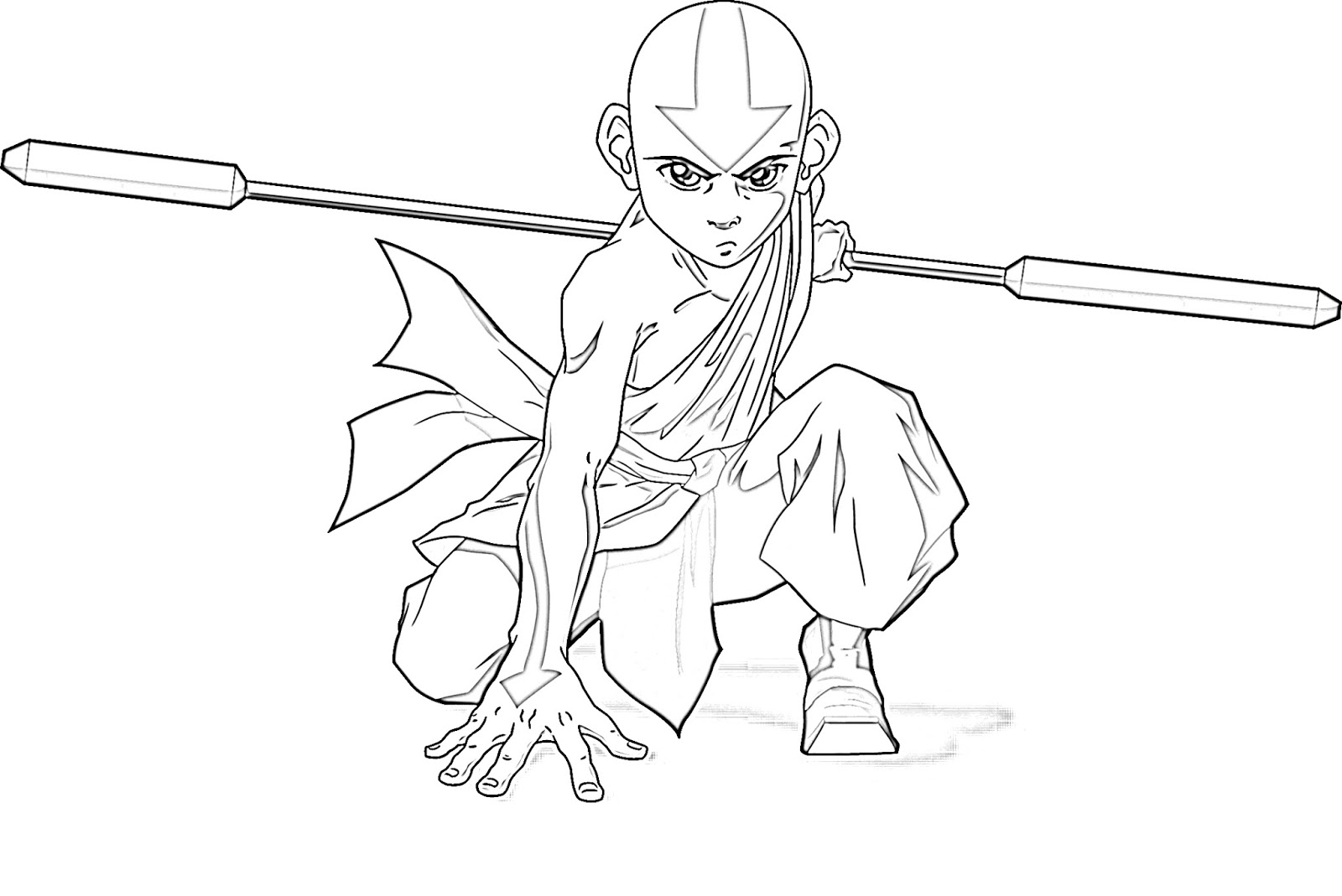 Craftoholic: Avatar The Last Airbender Coloring Pages