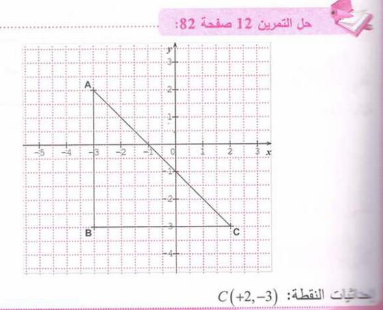 حل تمرين 12 صفحة 82 رياضيات للسنة الأولى متوسط الجيل الثاني