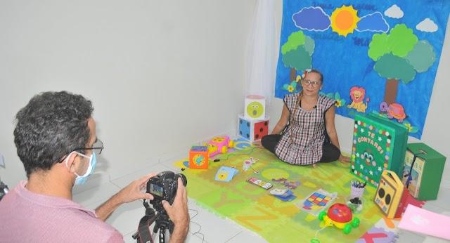 """Projeto """"Minha Escola na TV"""" é sucesso e beneficia alunos da Rede Municipal de Ensino"""