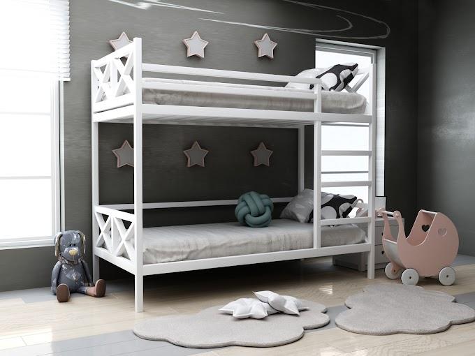 Детская двухъярусная кровать Лиана 80х190  ТМ MegaOpt