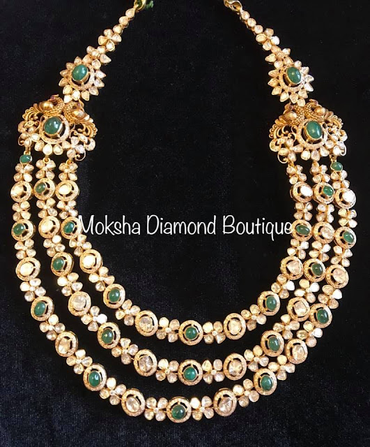 Three Layer Flat Diamond Set by Moksha