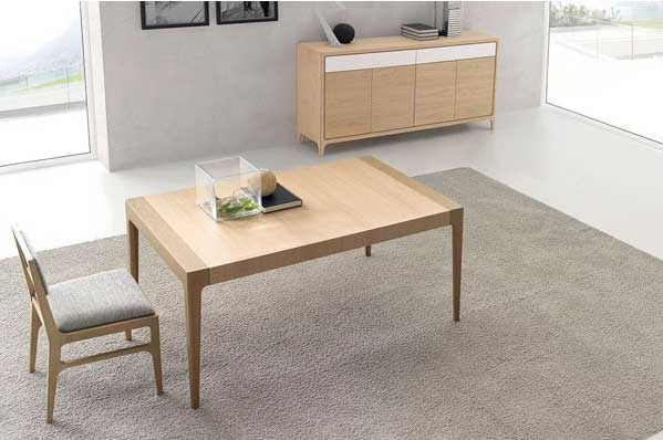 Arte h bitat tu tienda de muebles comedor optimum 16 de - Muebles nogal yecla ...