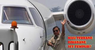 CATAT! Begini Kronologi Sebenarnya Pesawat Prabowo Batal Terbang yang Diduga Dihadang Jet Tempur