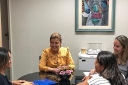 Deputada Maisa Mitidieri recebe representantes sergipanas da Marcha das Margaridas