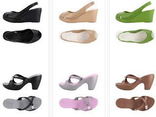sandalias crocs mujeres