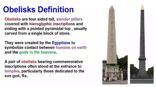 Obelisks Definition