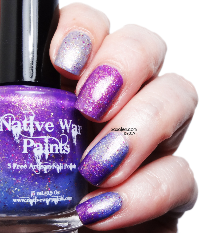 xoxoJen's swatch of Native War Paints Join the Circle