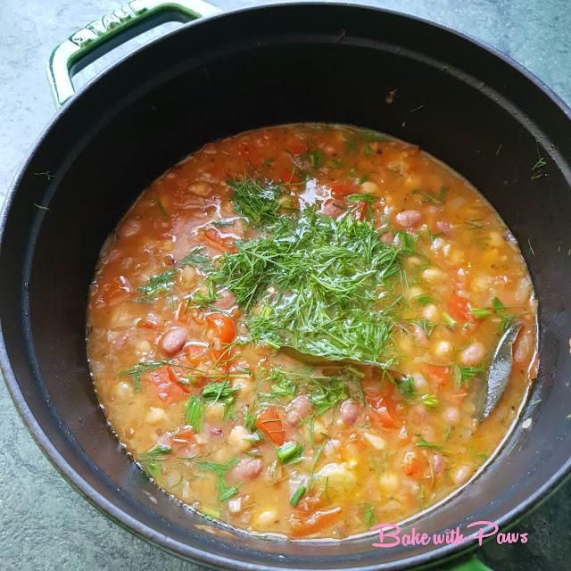 Greek Beans Soup