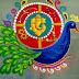 RD33 : श्री गणेश रंगोली डिज़ाइन - Ganesh Freehand Rangoli Design
