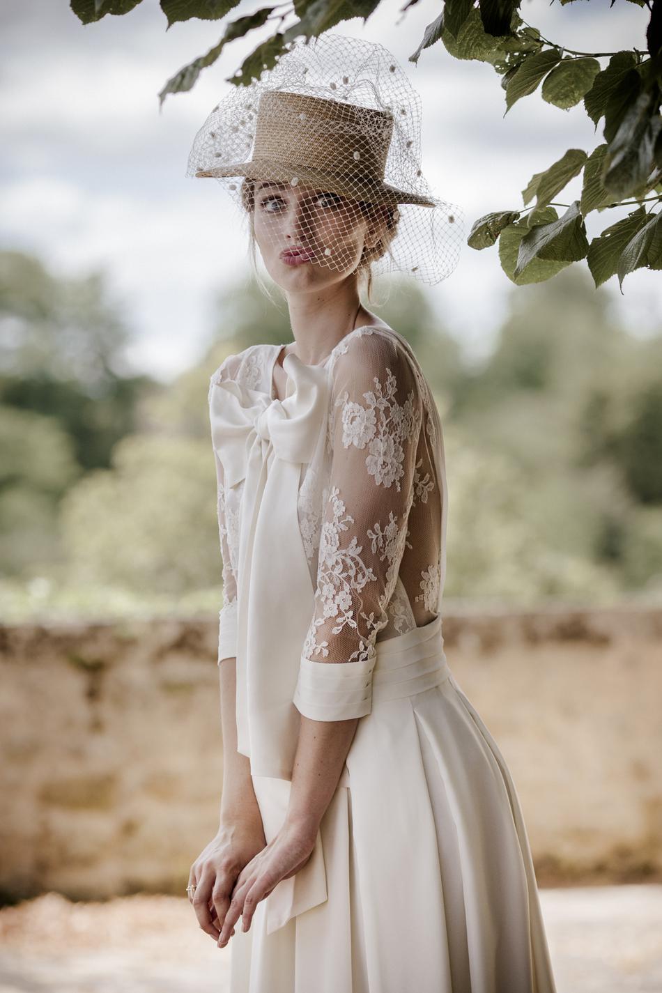 caractéristiques exceptionnelles mode designer pas cher The French Touch: Chapeau to the Lovely Bride