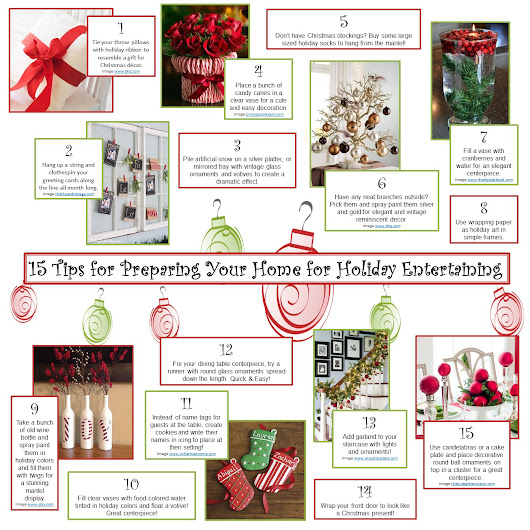 15 Tips for Preparing Your Home for Holiday Entertaining