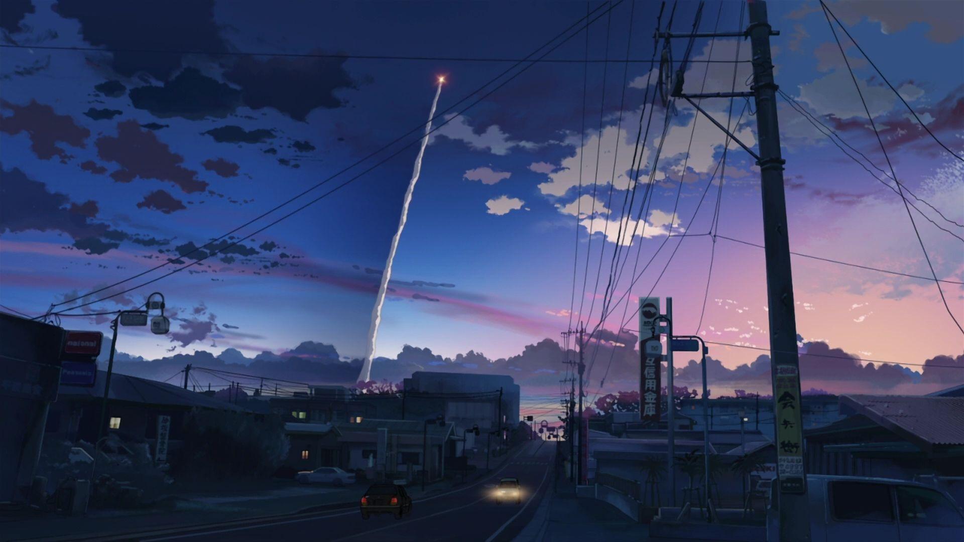 aesthetic anime background