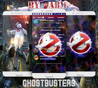 Ghost Busters Theme For YOWhatsApp & Fouad WhatsApp By ALBERTO