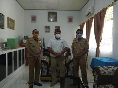 Kunjungan ke Ketua PGRI Kota Baubau