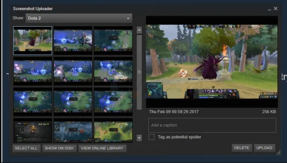 How To Access And Change Steam Screenshot Folder and change location