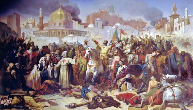 Penaklukan Yerusalem oleh Tentara Salib.
