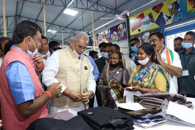 देश-विदेश में चमकेगा दंतेवाड़ा का गारमेंट ब्रांड ''डेनेक्स'': श्री भूपेश बघेल