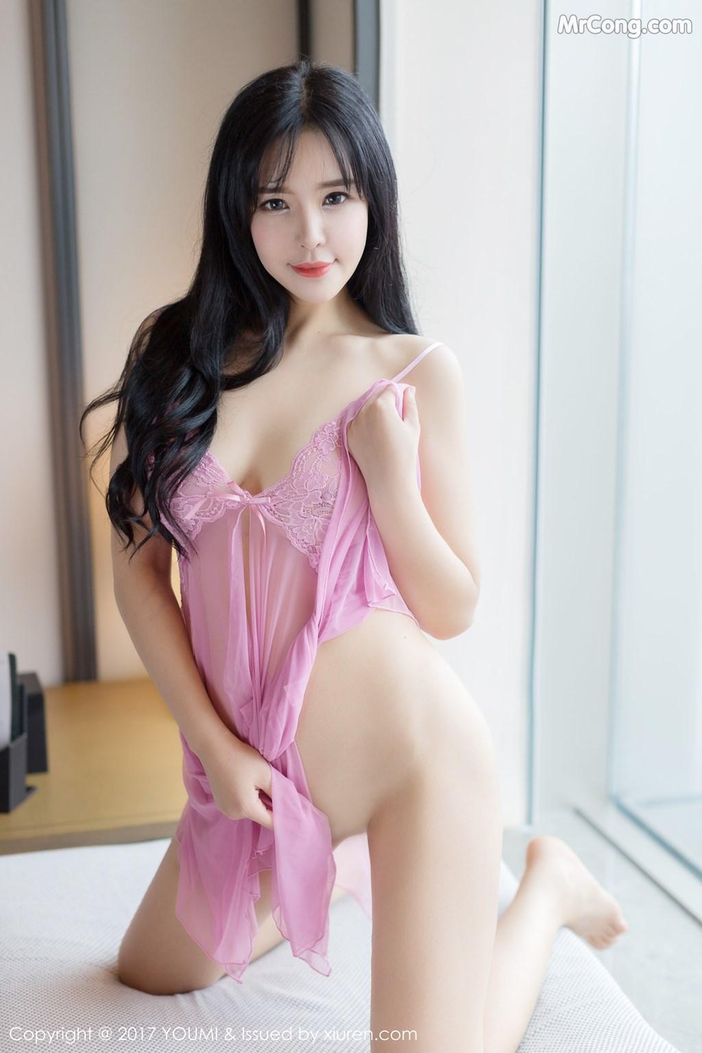 Image YouMi-No.067-Liu-Yu-Er-MrCong.com-014 in post YouMi No.067: Người mẫu Liu Yu Er (刘钰儿) (45 ảnh)