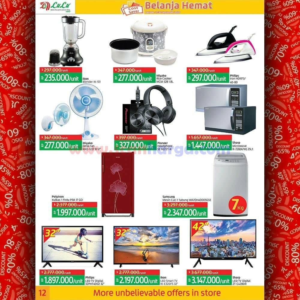 Katalog Promo LULU Supermarket 17 - 30 September 2020 12