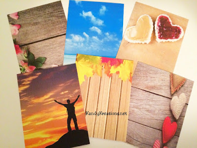 Fun photo journaling card printables