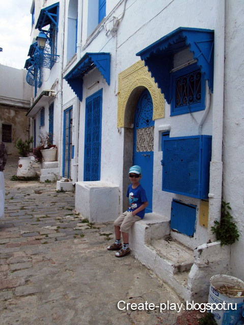 Sidi-Bou-Said Carthago Тунис