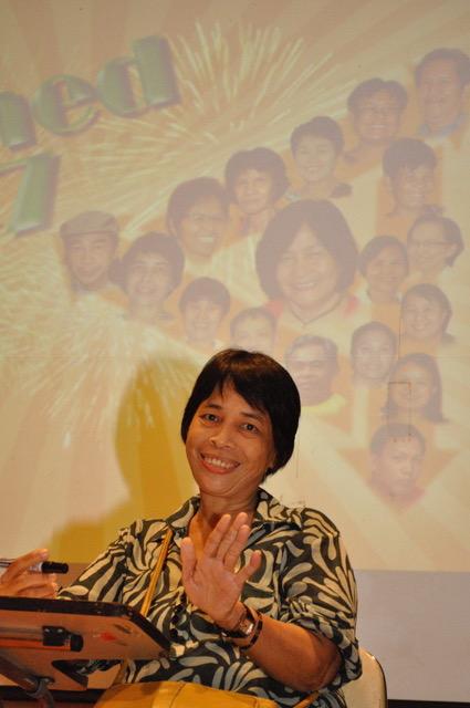 A celebration for Rebecca Salayo's retirement
