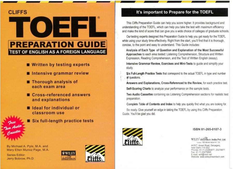 Cliff toefl preparation guide user guide manual that easy to read download ebook cliff toefl preparation guide audio sya tutorial rh sya tutorial blogspot com cliffs toefl preparation guide audio download cliff toefl fandeluxe Choice Image