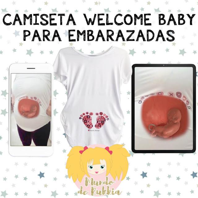 camiseta-welcome-baby-regalo-embarazadas