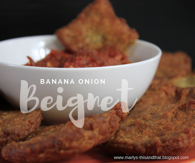 Crazy Ingredient Challenge Recipe with banana and onions that gives you a little sweet and savory in each bite.