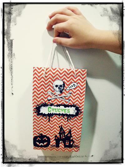bolsa de chuches para halloween