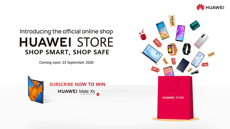 Huawei Philippines' official online shop is now open!