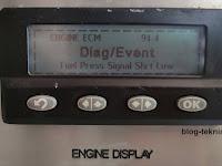 Fuel Delivery Pressure Sensor - Voltage Below Normal (Diagnostic Code: SPN 94 - FMI 4)