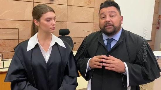 advogado encena agressao tatiane spitzner indignacao