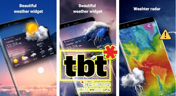 15 Aplikasi Cuaca Terbaik Untuk Info Cuaca Yang Akurat