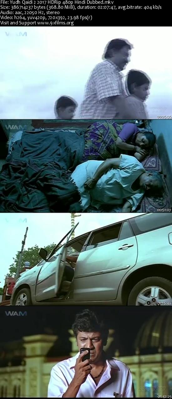 Yudh Qaidi 2 2017 HDRip 480p Hindi Dubbed