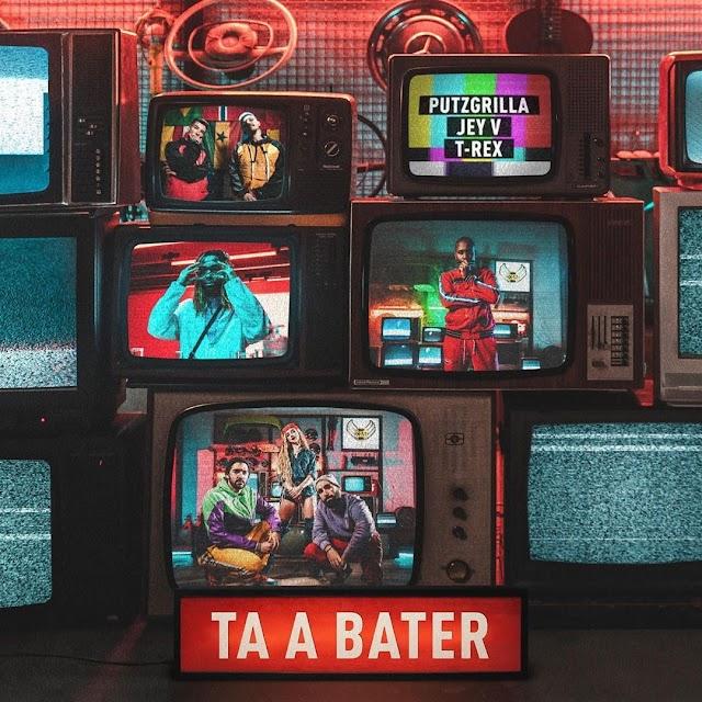 Putzgrilla & Jey V ft Tóy Tóy T-Rex - Tá A Bater (Afro Trap)