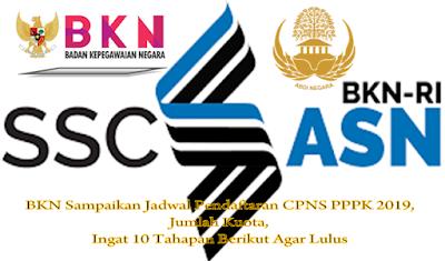 Bkn Sampaikan Jadwal Pendaftaran Cpns Pppk 2019 Jumlah