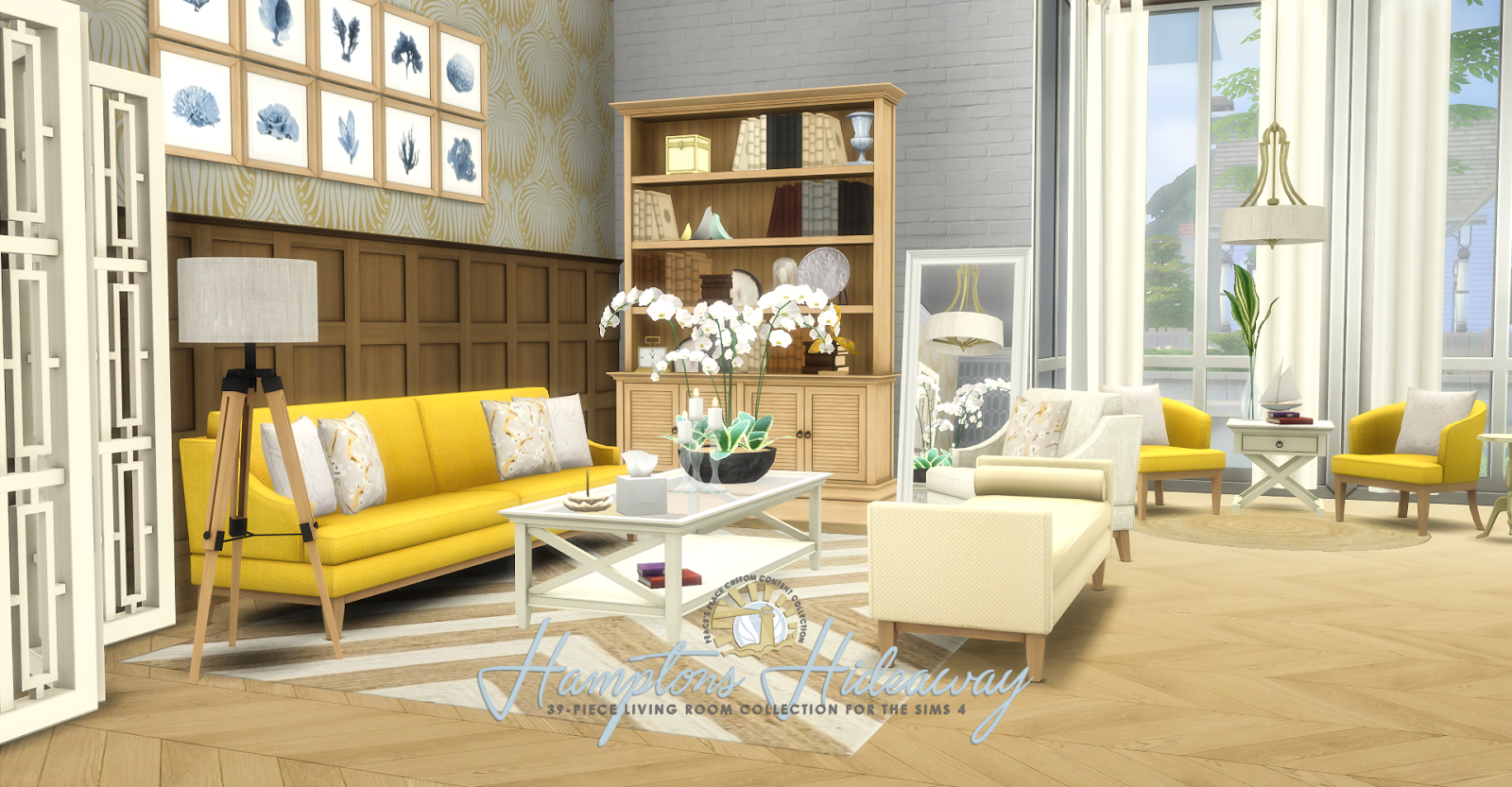 My Sims 4 Blog. My Sims 4 Blog  Updated   Hamptons Hideaway Living Room Set by