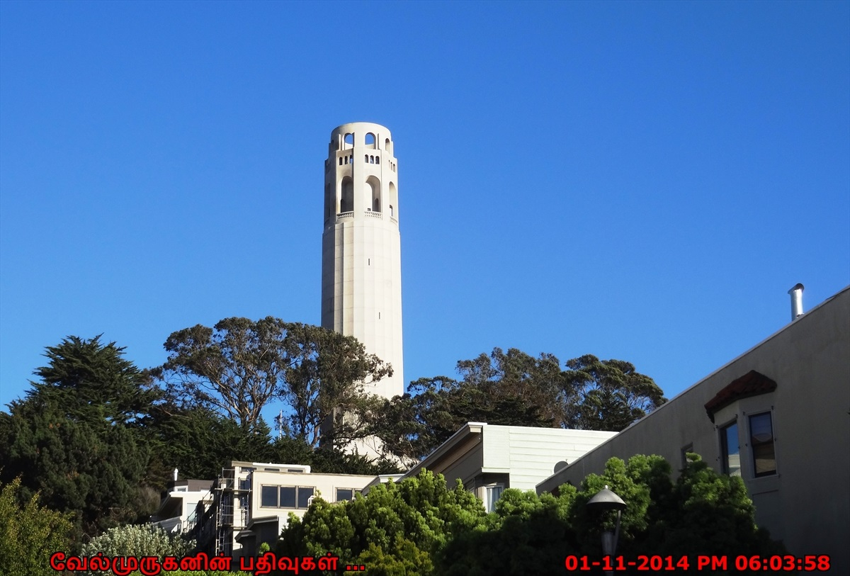 Coit Tower Exploring My Life