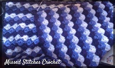 turtle shell crochet throw blanket