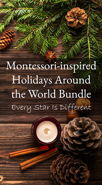 Montessori-inspired Holidays Around the World Bundle