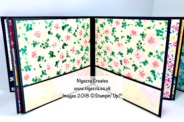 Stampin' Up!® Garden Impressions Mini Album Nigezza Creates