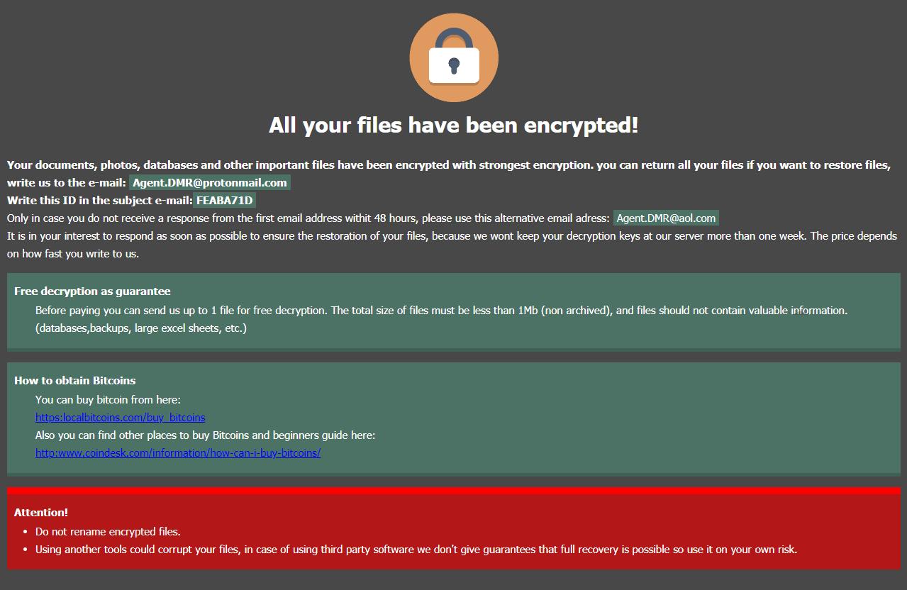.DMR64 File VIrus