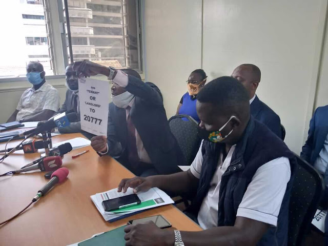 LATAK orders Tenants not to pay rent to Landlords due to declined economy. PHOTO | BMS