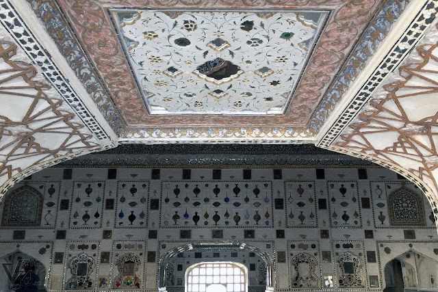 Glass-works and mirror-works of Sheesh Mahal