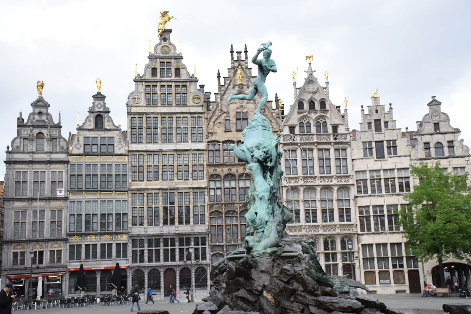 Free Things to do in Antwerp | Brabo's Fountain